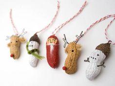 Fabriquez vos décos de Noël avec des cacahouètes | La cabane à idées