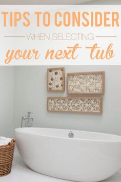 If you're in the market for a new tub, you'll want to know what your options are. With a variety of styles, colors, sizes and features available, you'll have little trouble finding one that fits your budget and bathroom. Do you prefer air or water jets? What installation considerations should you bear in mind? What special features would you like to have? Take some advice from our #bath professionals before you take the plunge and buy your next tub.