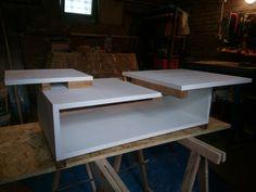 #table #livingroom #diy #mdfwood #experiment prova per la realizzazione di un tavololino per salotto.. Migliorabile