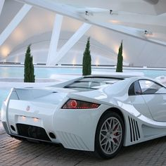 Beautifully designed GTA Motors Spano Supercar
