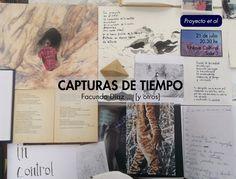 Proyecto et al. Proyecto de intervención artística sobre la muestra Capturas de tiempo  por Mariana Mattar