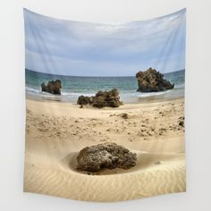 15% Off + Free Worldwide Shipping on EVERYTHING   Please use this link:  https://society6.com/guidomontanes?promo=H Available in three distinct sizes, our Wall Tapestries are made of 100% lightweight polyester with hand-sewn finished edges. Featuring vivid colors and crisp lines, these highly unique and versatile tapestries are durable enough for both indoor and outdoor use. Machine washable for outdoor enthusiasts, with cold water on gentle cycle using mild detergent - tumble dry with low…