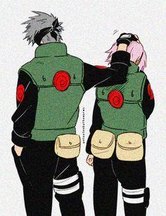 Kakashi & Sakura (from Naruto).