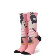 STANCE Sassy Minnie Socks Women   Pink (W515D16SAS)