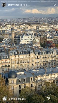 City Aesthetic, Travel Aesthetic, Places To Travel, Places To Visit, City Vibe, Story Instagram, Plein Air, Paris Skyline, Beautiful Places