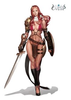 f Fighter magic plate shield sword Warrior concept art. Character Design Challenge, Character Design Cartoon, Character Design References, Character Design Inspiration, Game Character, Character Concept, Concept Art, 3d Fantasy, Fantasy Warrior