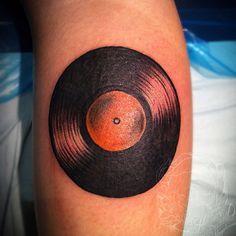 record tattoo - Google'da Ara
