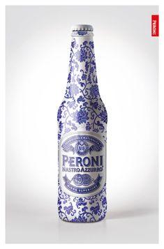 Peroni - Special Edition Proposal by Yuk-Man Chan, via Behance