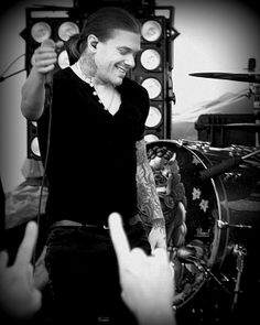 Shinedown - 5-11-2012 - Pacific Junction, IA - River Riot 2012 - 14-019