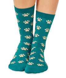 Moonbi women's super-soft bamboo crew socks in jade. Made by Braintree