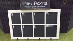 Custom message board by Prim Pickins Sterling, IL. FB- Prim Pickins
