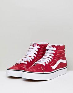 ca820a40f74f4b Vans Sk8 Hi Sneakers In Red. Red High ...