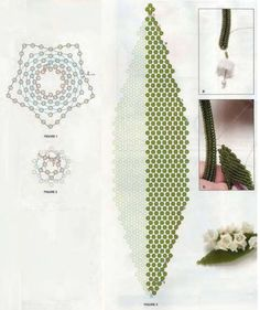 Beaded Flower Lily of the Valley Seed Bead Patterns, Jewelry Patterns, Flower Patterns, Beading Patterns, Seed Bead Flowers, French Beaded Flowers, Beading Projects, Beading Tutorials, Seed Bead Jewelry