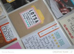 A Day in the Life : Project Life insert using the stamp set and printables for @Studio Calico's March class, You've Got Mail