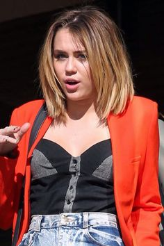 Miley cyrus- short ombre