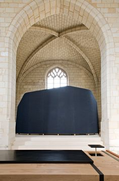 Agence Jouin Manku : Le prieuré de l'abbaye de Fontevraud - ArchiDesignClub by MUUUZ - Architecture & Design