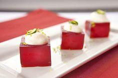 Pomegranate Margarita Jelly Shots