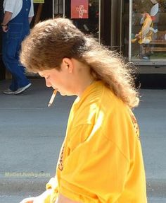 Mullets, the greatest hair cut EVER!!!!!