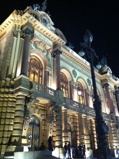 Municipal Theatre @ São Paulo, Brazil