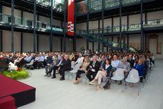 pubblico presente al Premio Galileo 2014