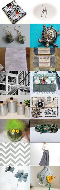Grey Gift Collection by Pooja Vishnoi on Etsy--Pinned with TreasuryPin.com #giftideas
