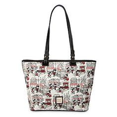 Disney Mickey and Minnie Mouse Downtown Large Shopper by Dooney & Bourke - Red | Disney StoreMickey and Minnie Mouse Downtown Large Shopper by Dooney & Bourke - Red - Shopping will be much more fun in the company of Mickey and Minnie. The sweethearts know all the best spots as shown on this Large Shopper by Dooney & Bourke which pictures the pair enjoying a romantic day out on the town.