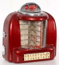 1950 diner juke box Record Selector in the booths. I always picked Chantilly Lace 1950 Diner, Vintage Diner, Retro Diner, Vintage Kitchen, 50s Diner Kitchen, Vintage Box, Vintage Style, Vintage Signs, Juke Box