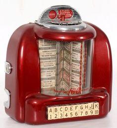 1950 diner juke box