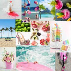 Blog Boss Oct/Nov 2014 e-course, color season mood board by Jen Hlad @ Marshmallows and Margaritas
