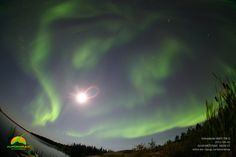 Aurora over Yellowknife, Canada, September 2, 2012