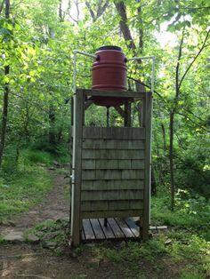 DIY Outdoor Solar Shower