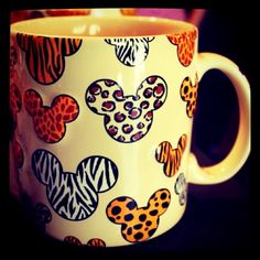 a 2 in 1; Mickey mouse & animal print!