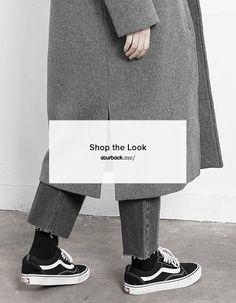 Jungs, lässiger Look mit weitem Mantel und Jeans! Shop the Look: http://sturbock.me/2O5