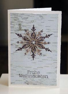 ... ist gerade diese Weihnachtskarte.  Natürlich nicht alleine, in den nächsten Tagen wird es so nach und nach weihnachtlich in meinem DaWan...