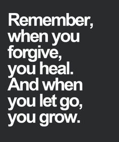 And When You Let Go - Life Quote