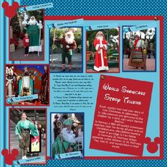 Christmas Decorations & Events at Epcot - MouseScrappers.com