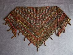 Shawl, Scarves, Knitting And Crocheting