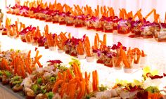 Carrot and Shrimp Shooters. we tell you how we created the display. anyone can… Carrot and Shrimp Shooters. we tell you how we created the display. Catering Display, Party Catering, Wedding Catering, Catering Ideas, Appetizers Table, Gourmet Breakfast, Food Displays, Wedding Tips, Wedding Foods