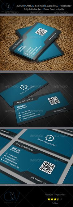 Corporate Business Card Vol.9
