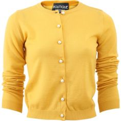 Boutique Moschino Pearl Button Cardigan - TES