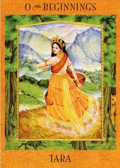 Beginnings (The Fool) - Goddess Tarot