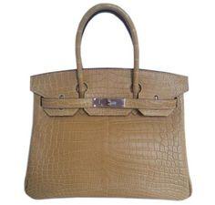 603844d275 Hermes Birkin 30 Paille Niloticus Crocodile Fall Handbags, Hermes Handbags,  Birken Bag, Small