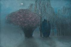 Richard Cartwright - The Night Wanderers -  Pastel 40 x 60 ins (101.60 x 152.40 cms)