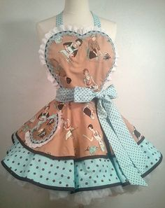 Hey, I found this really awesome Etsy listing at https://www.etsy.com/listing/150595178/domestic-diva-pinup-diner-apron-ready-to