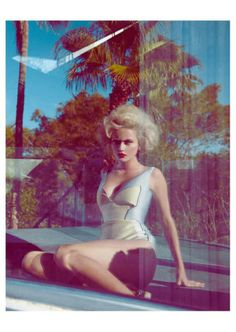 50s Vixen Editorials - The Madame Germany 'Some Like It Hot' Shoot Pays Tribute to Marilyn Monroe (GALLERY)