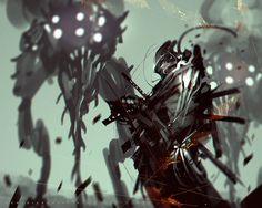 Brainstorm Challenge Dark Souls 3 Dark Samurai by benedickbana.deviantart.com on @DeviantArt