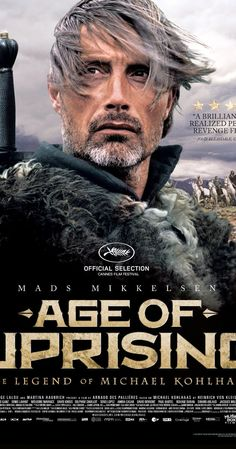 "Mad Mikkelsen ""en français"", gotta love it!  Age of Uprising: The Legend of Michael Kohlhaas (2013)"