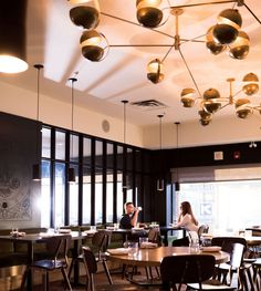 Top 10 Restaurants in Calgary // canada - by syrco bakker anju restaurant Calgary Restaurants, Top 10 Restaurants, Restaurant Recipes, Feng Shui, Ceiling Lights, Real Estate, Canada, Interiors, Drink