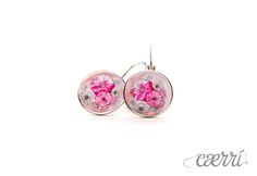Frühlingsboten - Ohrhänger 14mm, Silber von Caerri Design auf DaWanda.com