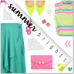 How To Wear Summer Brights (2) Outfit Idea 2017 - Fashion Trends Ready To Wear For Plus Size, Curvy Women Over 20, 30, 40, 50
